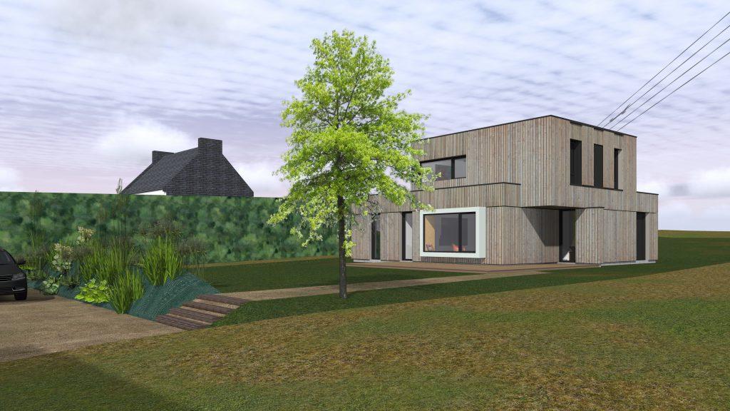 Projet de maison neuve oger stanzioni associ s for Maison neuve projet